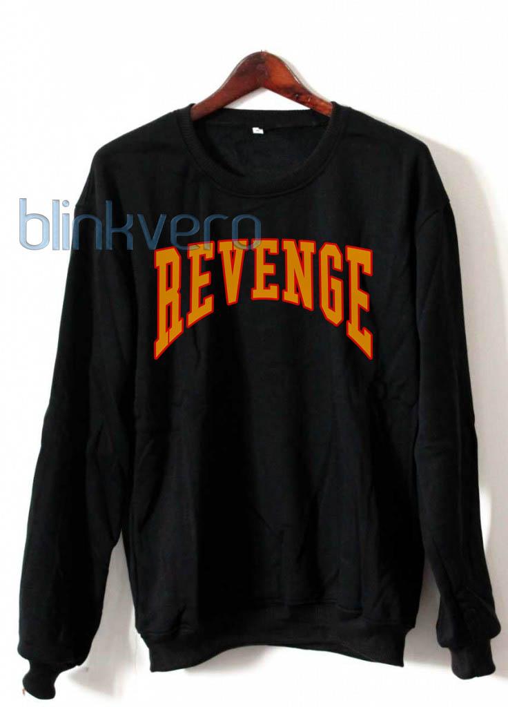 Revenge hoodie sweatshirt shirt top unisex adult size