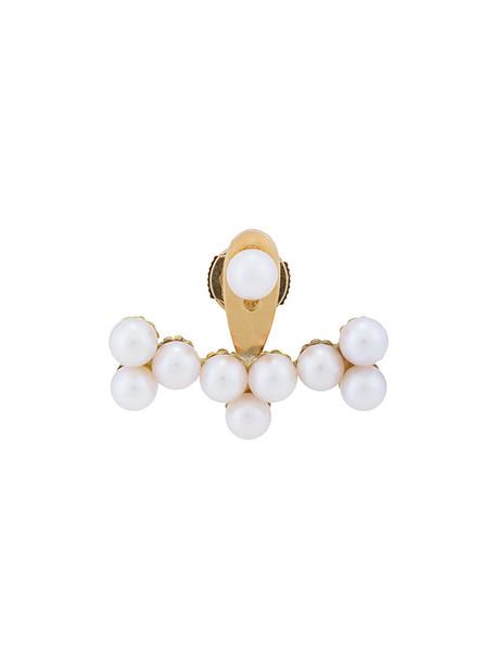 Yvonne Léon women gold white yellow jewels