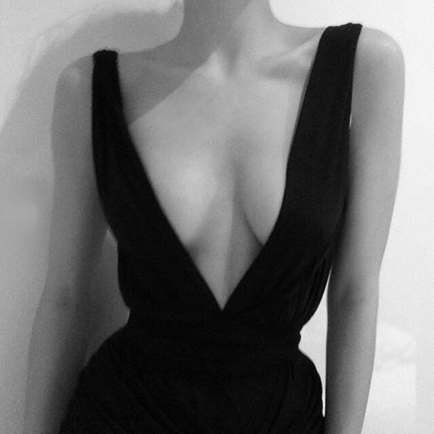 dress v neck clothes v neck dress jumpsuit romper black