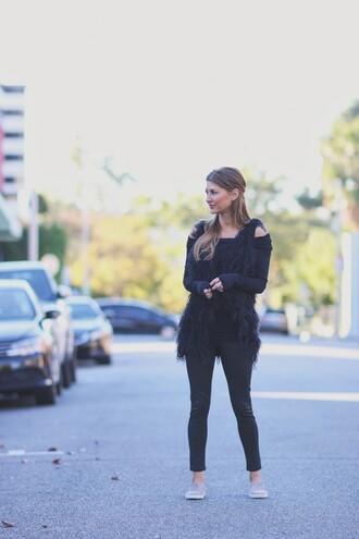ashlee frazier blogger shirt jacket pants shoes jewels