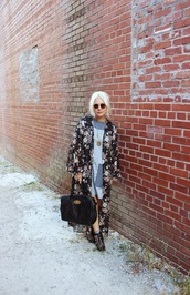 styles by hannah riles,blogger,bag,sunglasses,jewels,cardigan,necklace,denim,dress,shoes