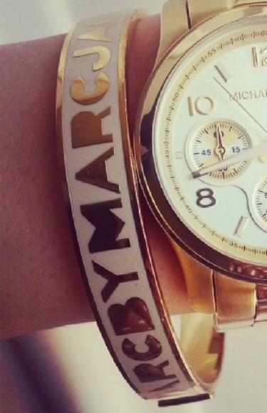 jewels bracelets marc jacobs white heeeeeeeeeeelp same design same kind
