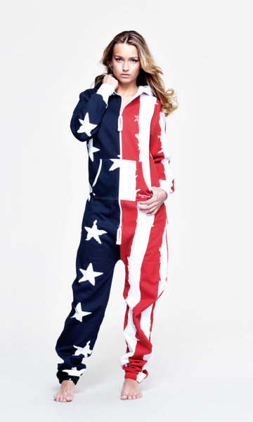 Onepiece usa stars and stripes