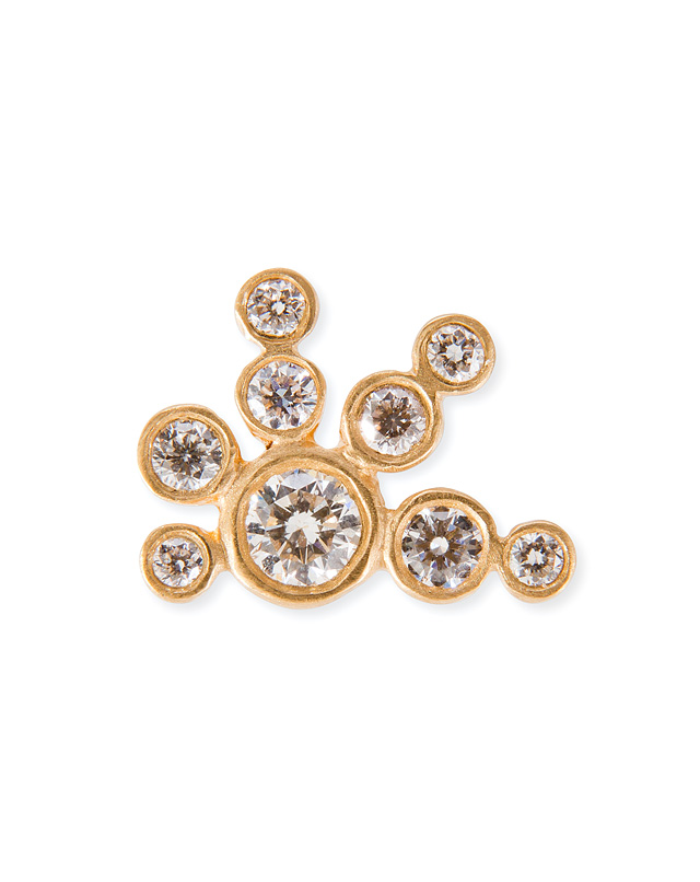 Sophie Bille Brahe - 18K Gold/Diamond Flacon de Neige Earring