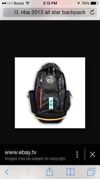 bag backpack nba