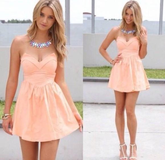 lovely short dress pink dress