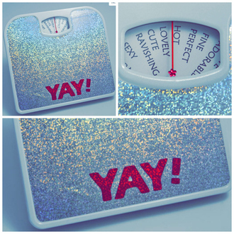 home accessory scale yay scale glitter scale sparkle sparkly scale scales yay silver glitter glitter funny