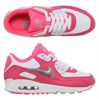 shoes silver air max pink dress pink nike nike white nike airmax bag nike air force 90