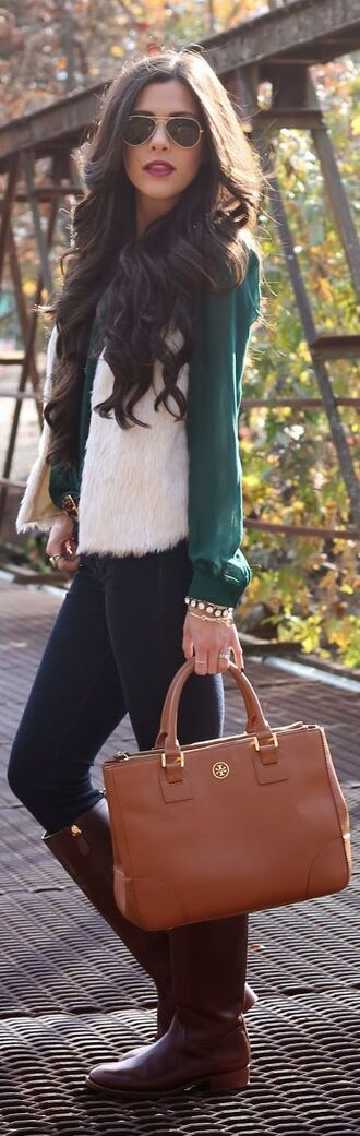 cardigan fur faux fur jacket faux fur vest winter sweater winter outfits green classy dressy blouse jacket top coat sweater pants