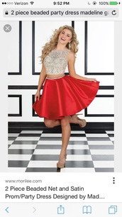 dress,homecoming dress,party dress,red,two piece dress set,two pieces prom dress,2 piece skirt set,prom dress,short prom dress,2016 short prom dresses,homecoming,short homecoming dress,cocktail dress,formal cocktail dresses,short party dresses,cheap party dresses