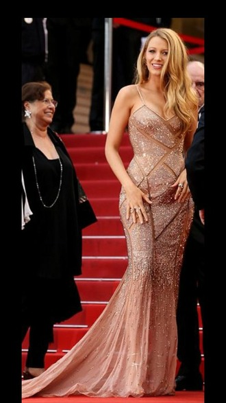 dress cannes 2016 blake lively dress cannes dress blake lively red carpet dress gown silver dress sparkly dress