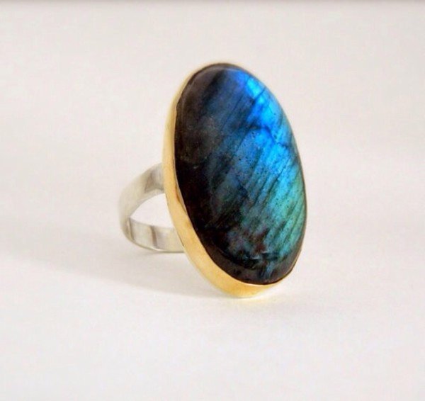 jewels gold ring labradorite ring gemstone 14k gold jewelry ring