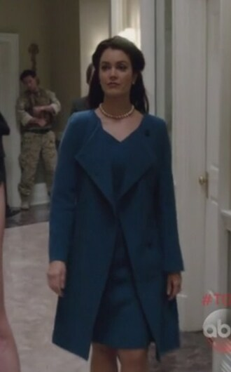 coat blue mellie grant scandal dress bellamy young