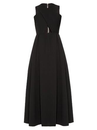 dress cut-out black