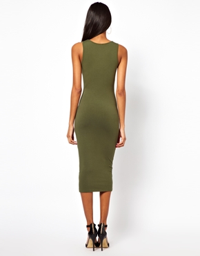 ASOS | ASOS Midi Tank Body-Conscious Dress at ASOS
