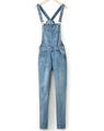 Online Shop KZ382 New Fashion Ladies' Elegant classic hole blue denim suspender pants jeans trouses pockets buttons casual slim brand design Aliexpress Mobile