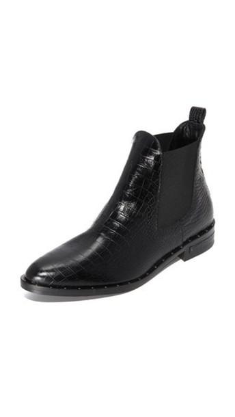 Freda Salvador Sleek Chelsea Ankle Booties - Black