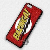 phone cover,bazinga,logo,big bang theory,iphone cover,iphone case,iphone 6 case,iphone 5 case,iphone 4 case,iphone 5s,iphone 6 plus,iphone 5c,iphone 7 case,iphone 7 plus