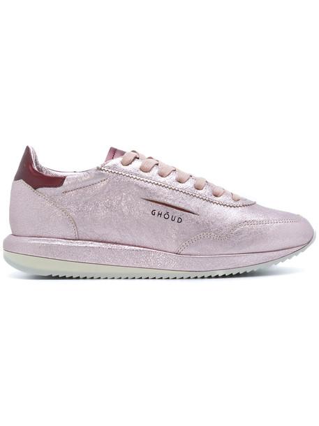Ghoud women sneakers leather purple pink shoes