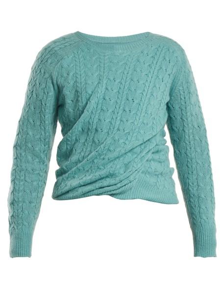 SIES MARJAN sweater knit blue
