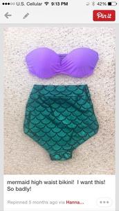 swimwear,the little mermaid