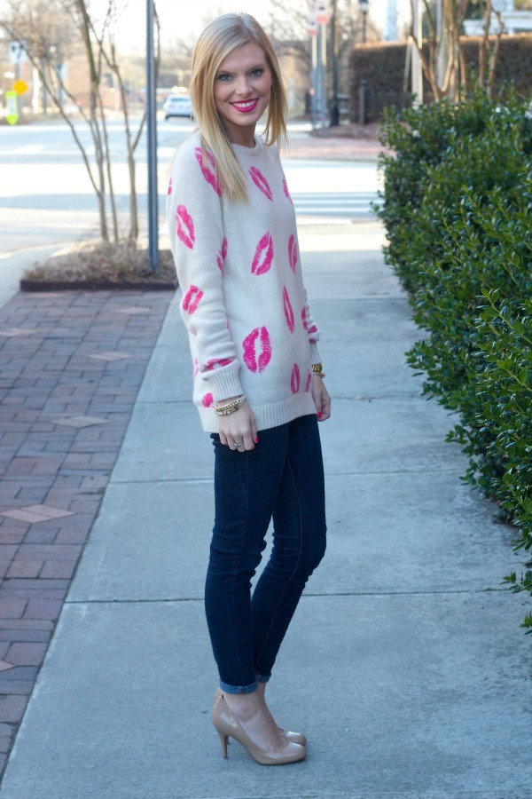 life with emily sweater shoes jewels