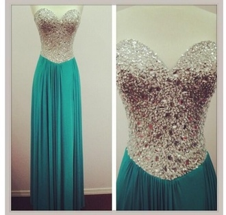 dress homecoming sequins silver blue turquiose pretty long dress prom mine find bustier dress jewled sweet heart