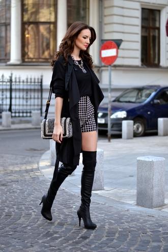 my silk fairytale coat shorts blouse shoes bag jewels