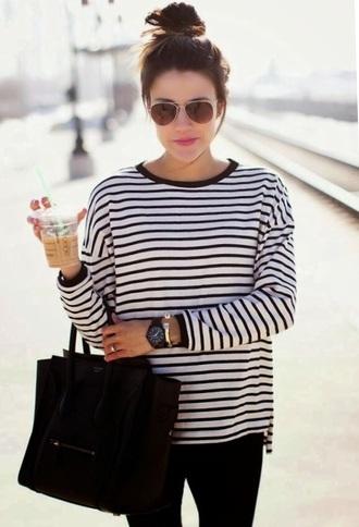 shirt striped shirt stripes style fashion chic