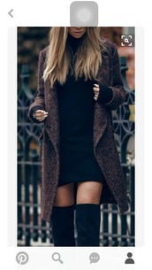 coat,fall coat,dress,black,black dress,little black dress,long sleeves,long sleeve dress,mini,mini dress,bodycon,bodycon dress,high neck,high neck dress,turtleneck,turtleneck dress,party dress,sexy party dresses,sexy,sexy dress,party outfits,sexy outfit,winter dress,winter outfits,fall dress,fall outfits,classy dress,elegant dress,cute,cute dress,girly,girly dress,date outfit,birthday dress,holiday dress,clubwear,club dress,tan,thick,knit