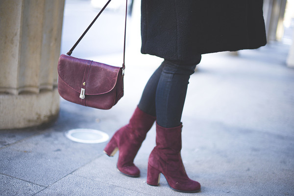 tiphaine's diary coat shoes bag sweater jeans