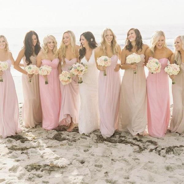bridesmaid chiffon long dress chiffon prom dress long prom dress party dress bridesmaid homecoming dress wedding party dresses