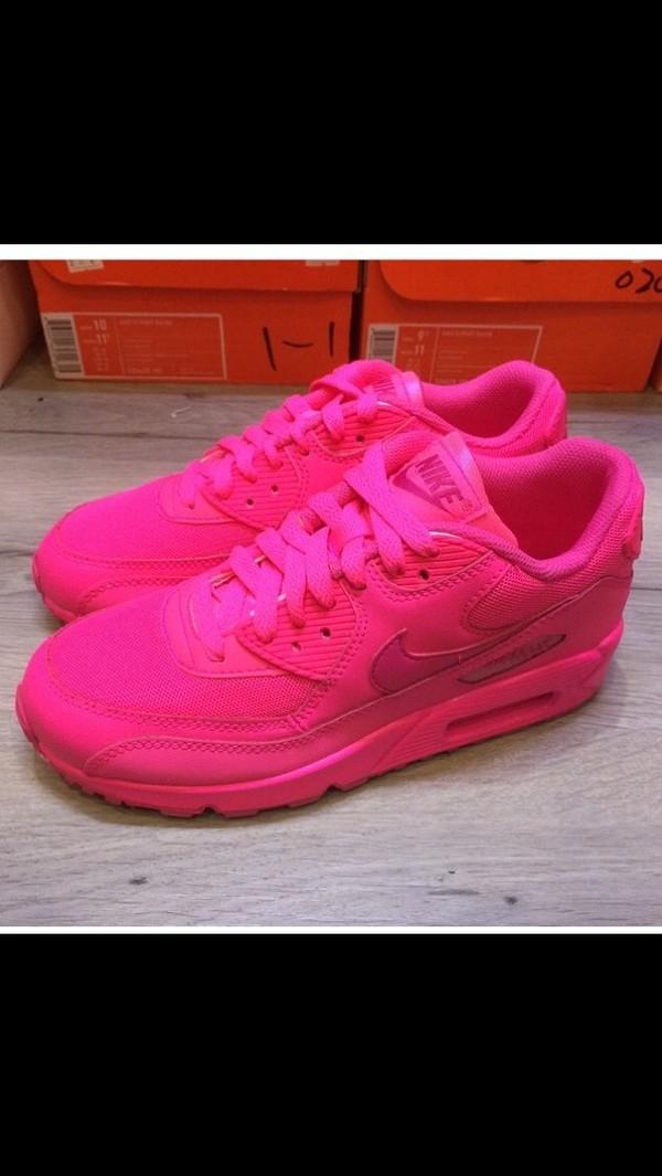 Nike Air Max 90 Hyperfuse Premium Hyper Pink Customs Womens sizes
