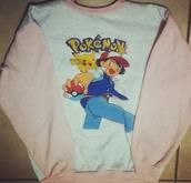 sweater,pokemon