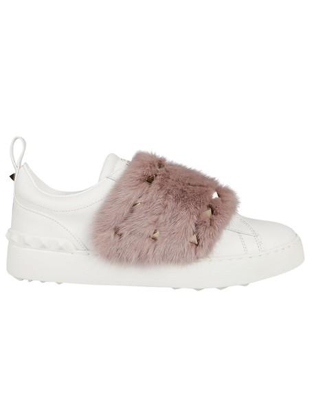 Valentino fur sneakers fur sneakers shoes