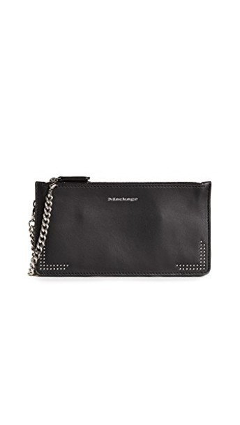 mackage pouch black bag