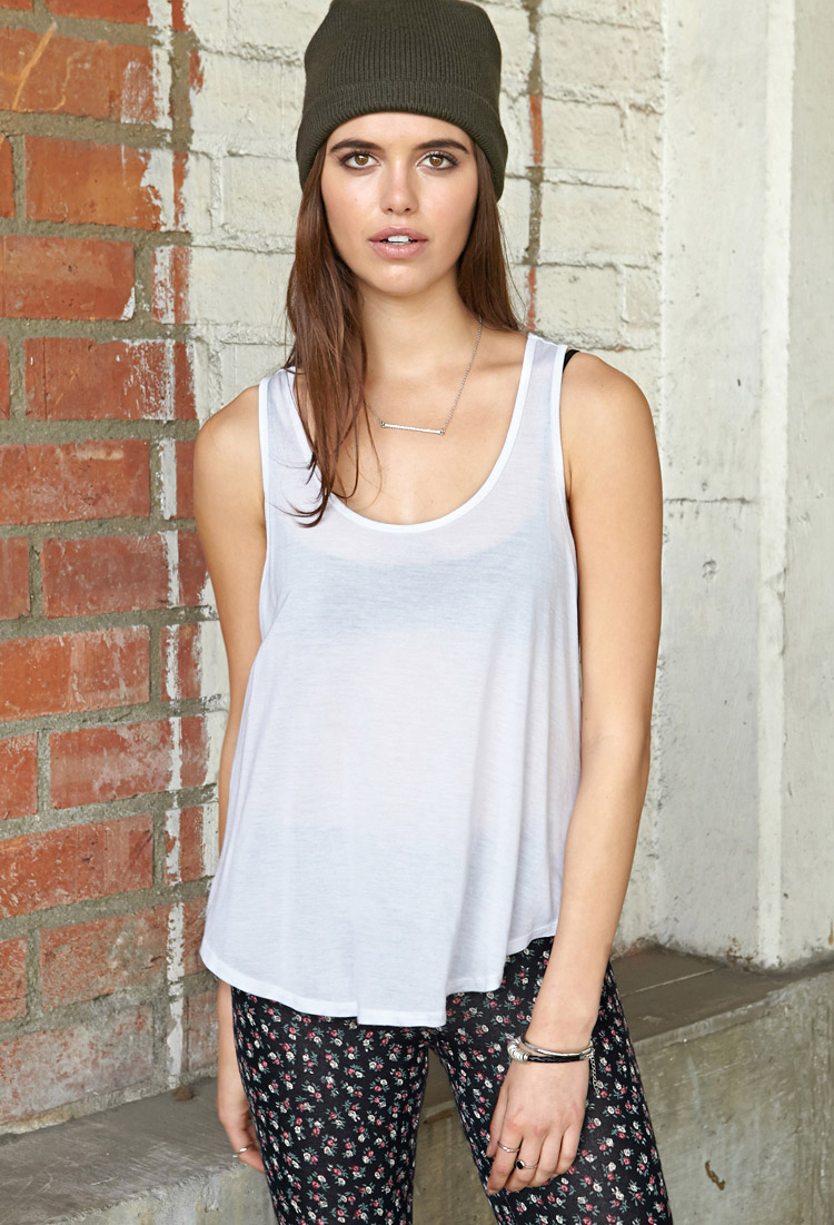 Flounced Tank | FOREVER21 - 2000107610
