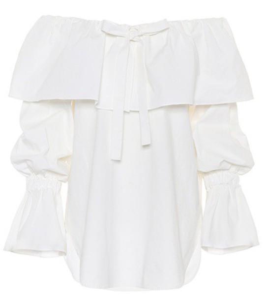 Rejina Pyo top cotton white
