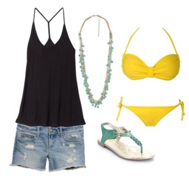 Outfits under $100: 4 swimwear looks for every style