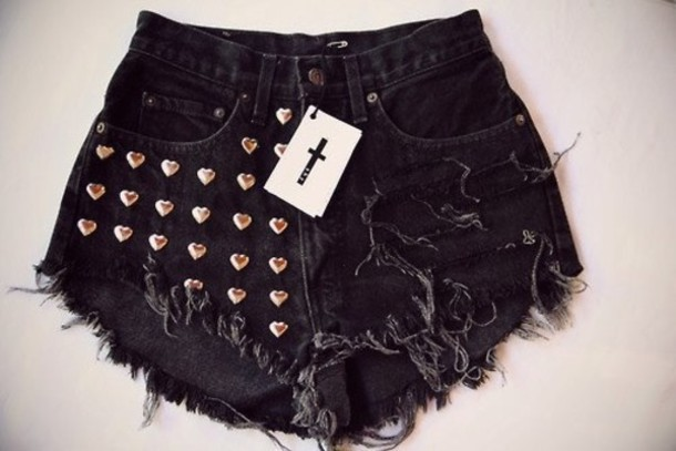 Super High Waist Denim Shorts £ Ripped Distressed Denim Board Shorts £ High Rise Distressed Denim Mom Shorts £ High Rise Frayed Hem Short £ Frayed styles scream festival-ready while distressed designs with studded details tick the vintage-inspired trend box.