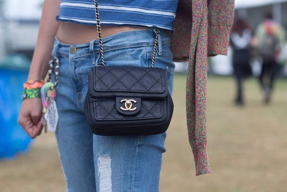 bag mini chanel jeans
