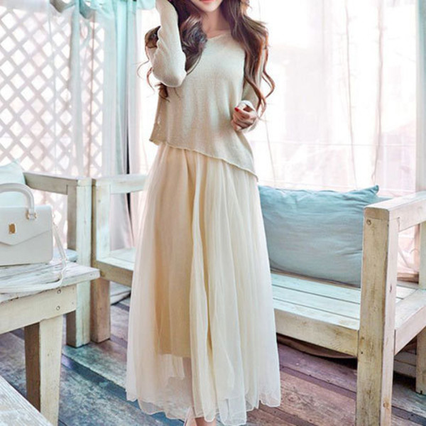 dress fashion clothes sweater