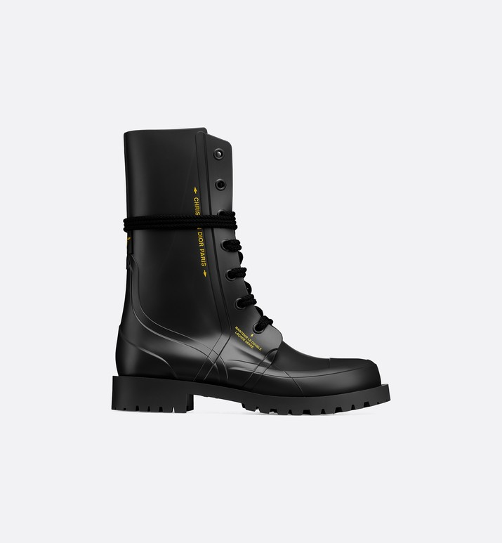 Diorcamp rubber ankle boot - Shoes - Woman | DIOR