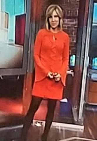 dress alisyn camerota dress wearing on 11/12/2017 on cnn orange