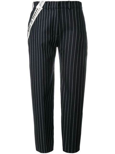 House Of Holland Tailored Pinstripe Tousers - Farfetch