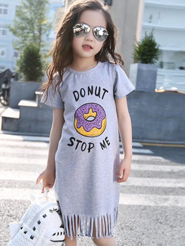 dress, gamiss, swag, cute, fashion, trendy, casual, summer, girl, kids  fashion, kids with swag, fringes , Wheretoget