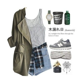 jacket urban streetwear streetstyle street hipster cool grey military style blouse t-shirt shoes