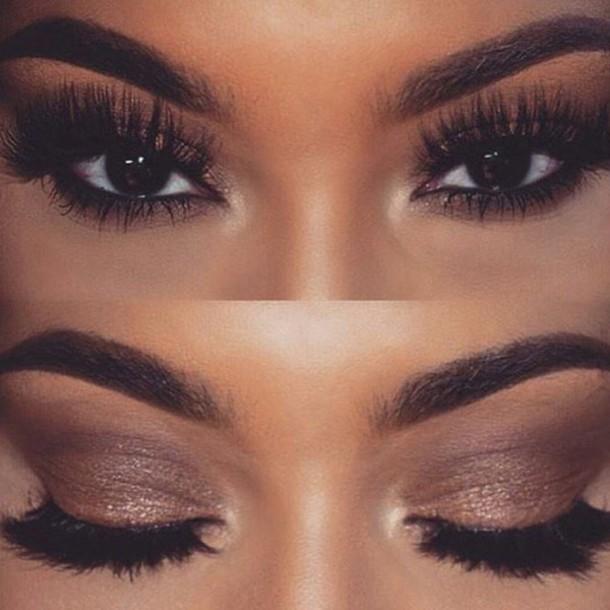 Make Up Smokey Eyes Black Eye Makeup Mascara Black Eyeshadow