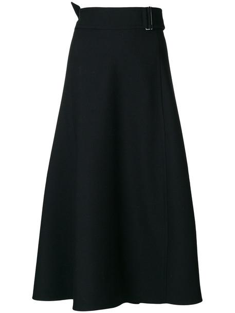 Dorothee Schumacher skirt midi skirt women midi spandex black wool