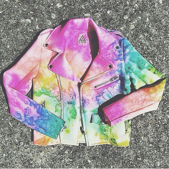 unif jacket rainbow